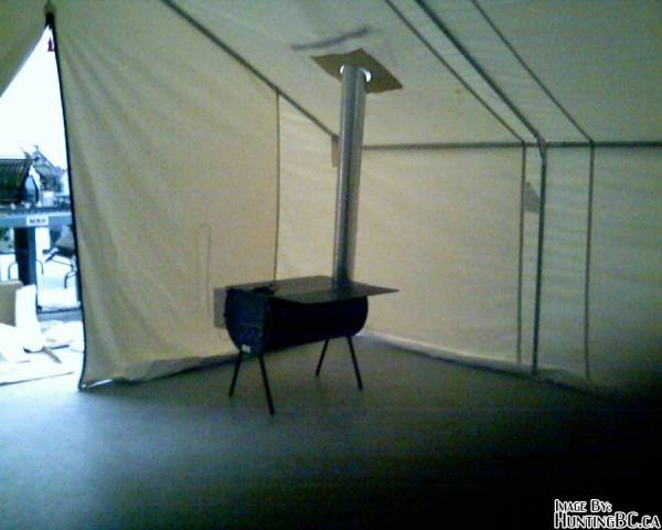 Got skunked hunting in the warehouse not even a mouse! & Wall Tent Question - Page 2