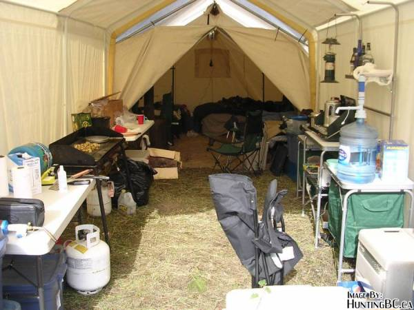 & Wall Tent Set Up Information [Archive] - HuntingBC.ca